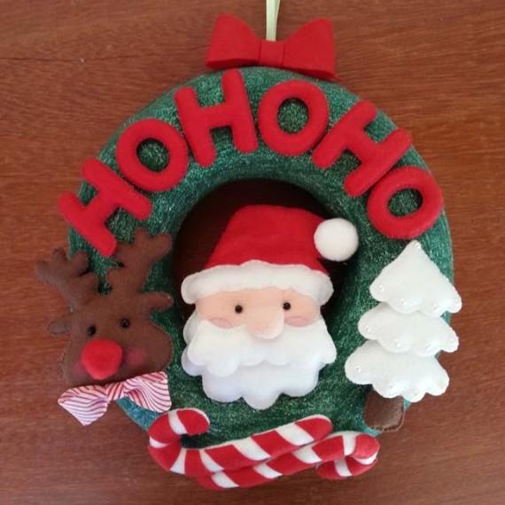 Guirlanda de Natal Hohoho