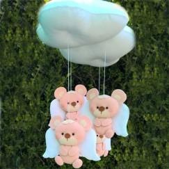 Mobile de Berço Ursinho nas Nuvens